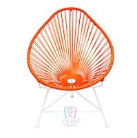 Divina Diseños  Silla Acapulco Color Naranja