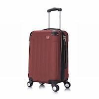 Dukap Maletas de viaje 51 cm 10 kg Puerto USB Vino