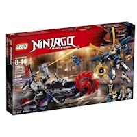Lego NinjaGo 70642 Samurai X Vs Killow 556 Piezas