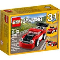Lego Creator Red Racer 31055