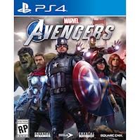 Preventa Marvels Avengers Playstation 4