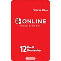 Membresía Nintendo Switch Online 12 Meses USA [Digital]