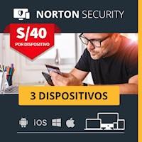 Norton Security para 3 dispositivos Antivirus