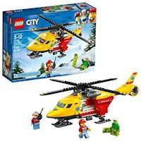 Lego City Helicoptero Ambulancia Ref: 60179
