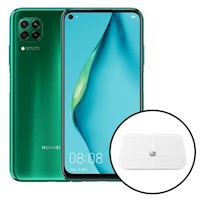 Huawei P40 lite 128GB 6GB RAM - Verde + Balanza Inteligente