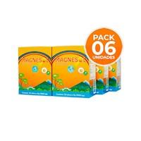 Sixpack Magnesol Efervescente Naranja