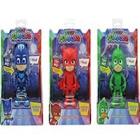 PJ Mask Catboy Gekko Owlette Set x 3 Figura Habla 15 Cm