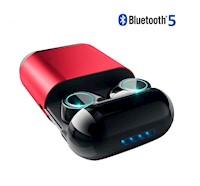 Audifonos Bluetooth Tws S7 Ligero Elegante Caja Magnetica
