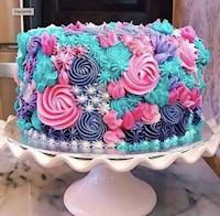 Torta con fondant temático x 90 porciones