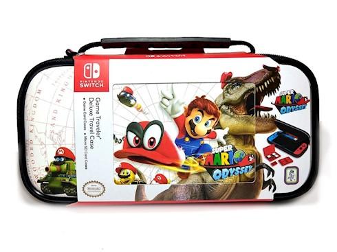 Estuche Nintendo Switch Game Travel Case Super Mario Odyssey