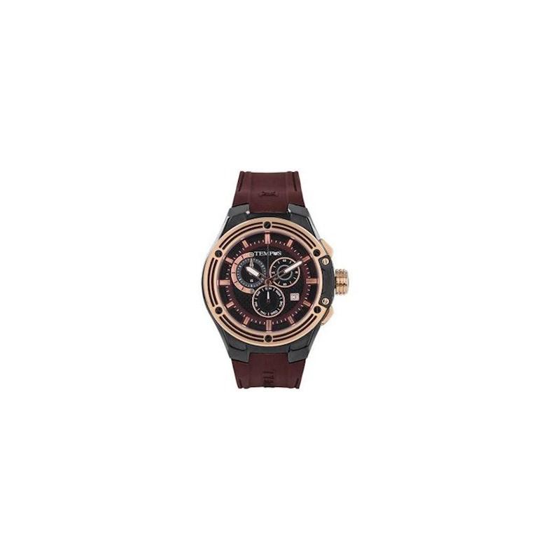 9d215fce615b Reloj Para Hombre Tempus Apolo 15001GORCF Cafe
