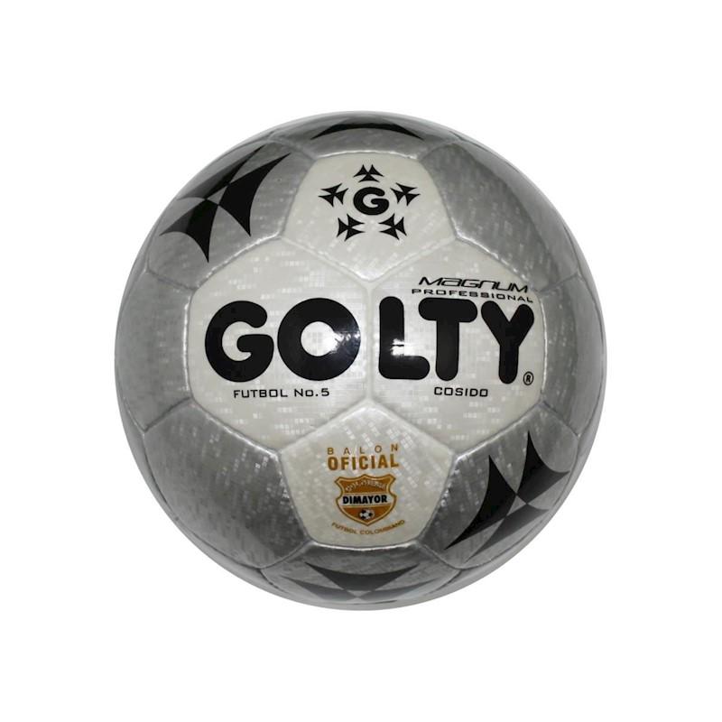 031b06fa36b6c ... Balon De Futbol  5 Profesional Golty Magnum T652218 - Gris. Pase el  cursor sobre la imagen para ampliarla. Pase su dedo sobre la imagen para  ampliarla.