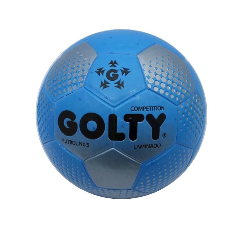 31a0a5fe13cd6 Balon De Futbol   5 Golty Competition Points T650511A - Azul ...
