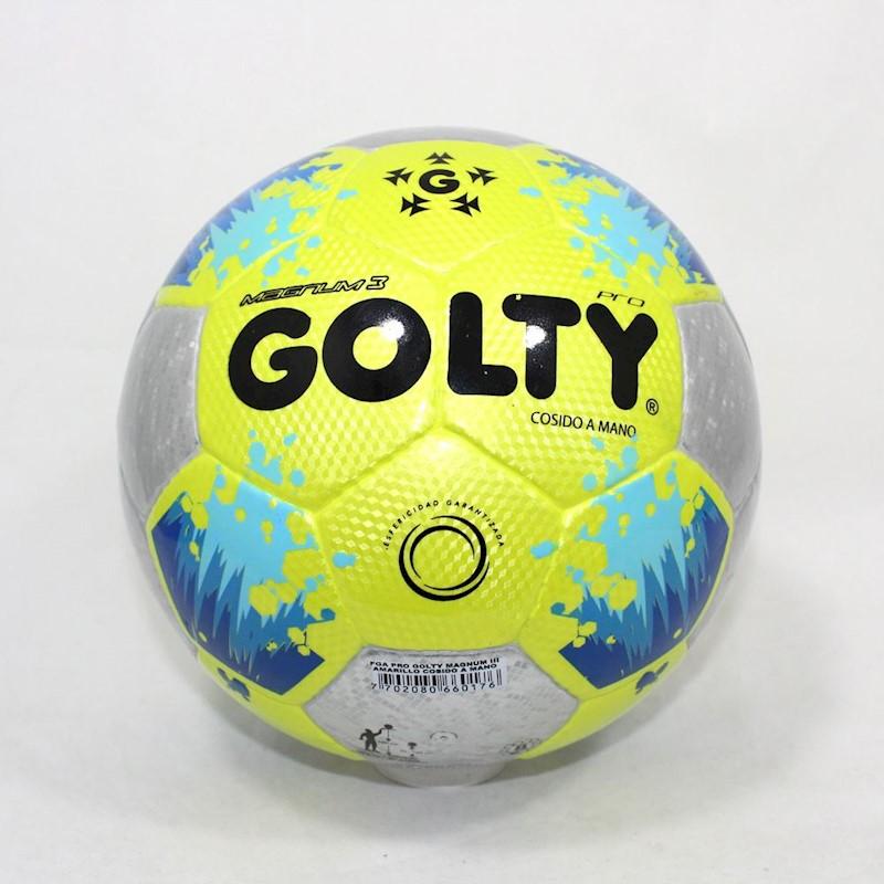 5adbbca1380c2 Balón Fútbol Sala Magnum 3 Golty Pro T660176