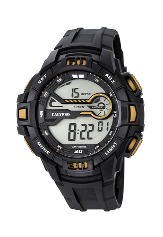 b585b64ab35d Reloj K5695 4 Negro Calypso Hombre Digital For Man