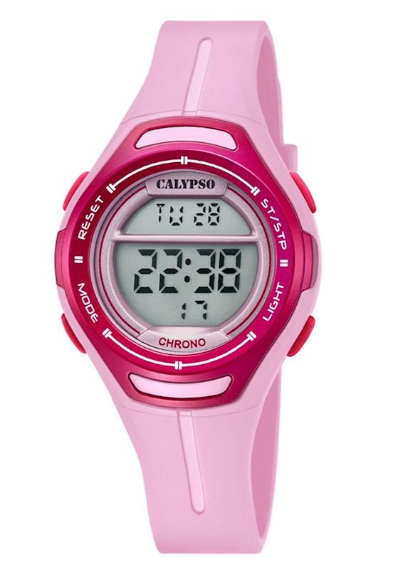 395268d0948a Reloj K5727 2 Rosado Calypso Mujer Digital Crush