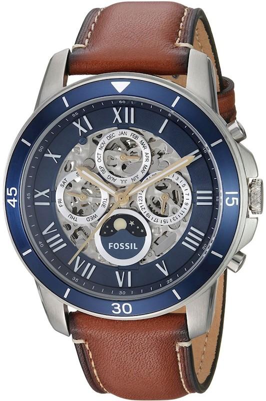 283c2fe5d3a5 Reloj FOSSIL GRANT SPORT ME3140 para Hombre color Azul