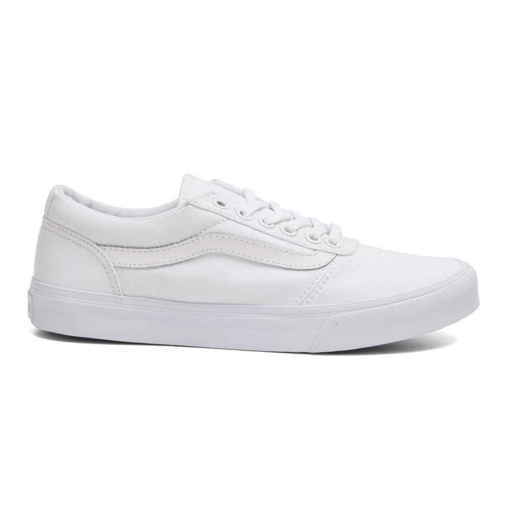 6453ac1331e Tenis Vans Maddie De Mujer Color Blanco