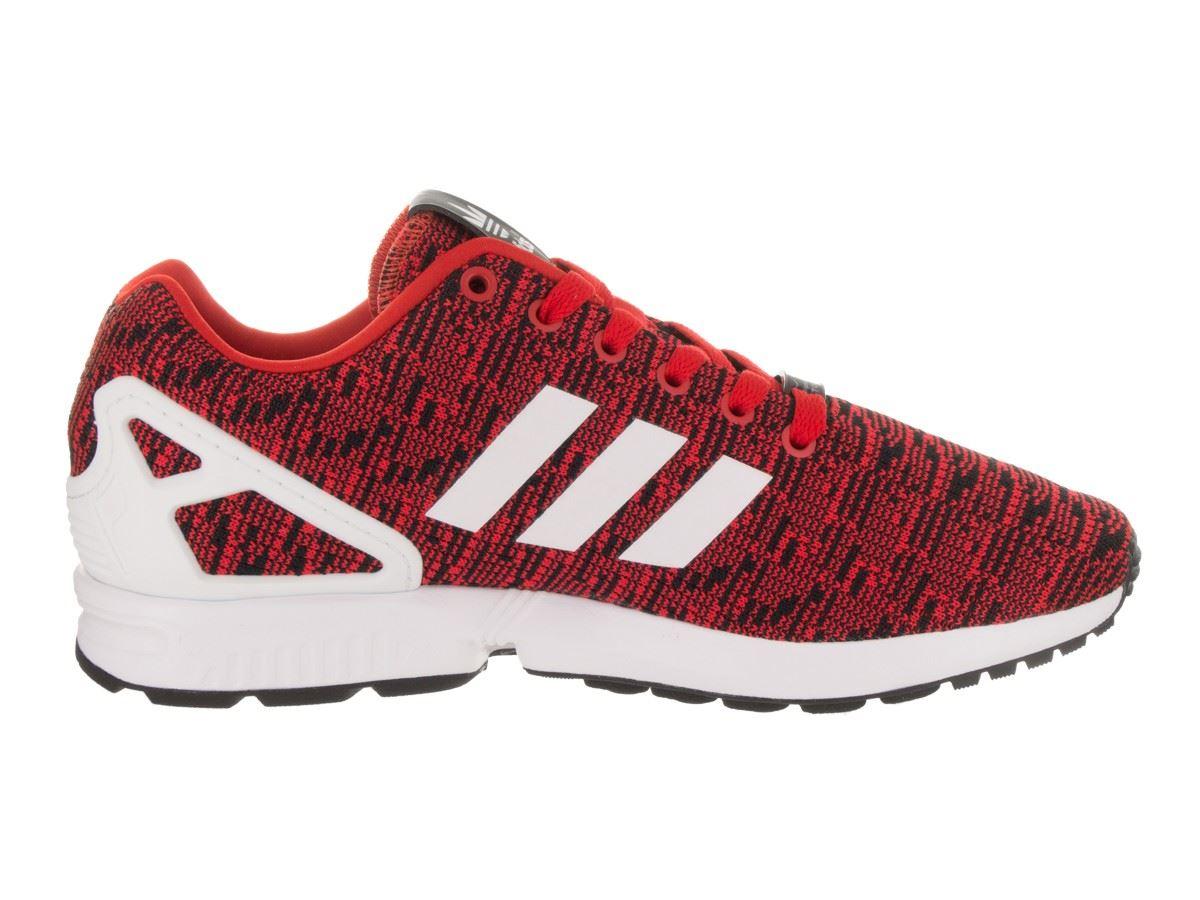 zapatillas adidas zx flux rojas