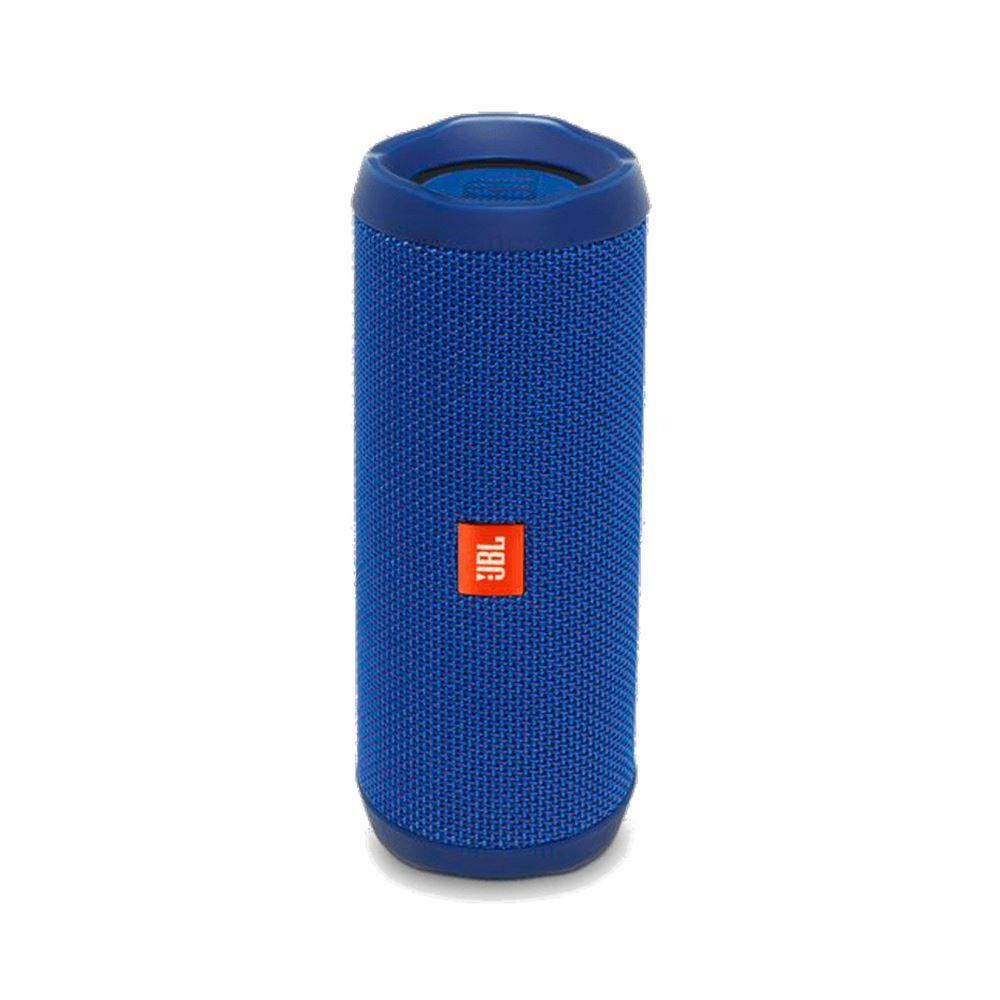 Parlante JBL Flip 4 Con Bluetooth Sumergible Bateria 12H - Azul