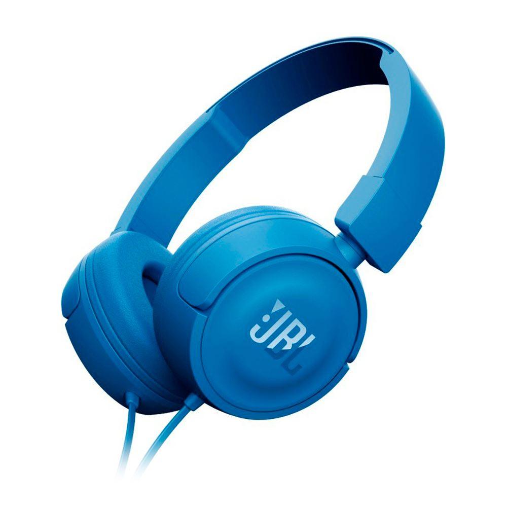 Audifonos JBL T450 Corder On Ear Azul