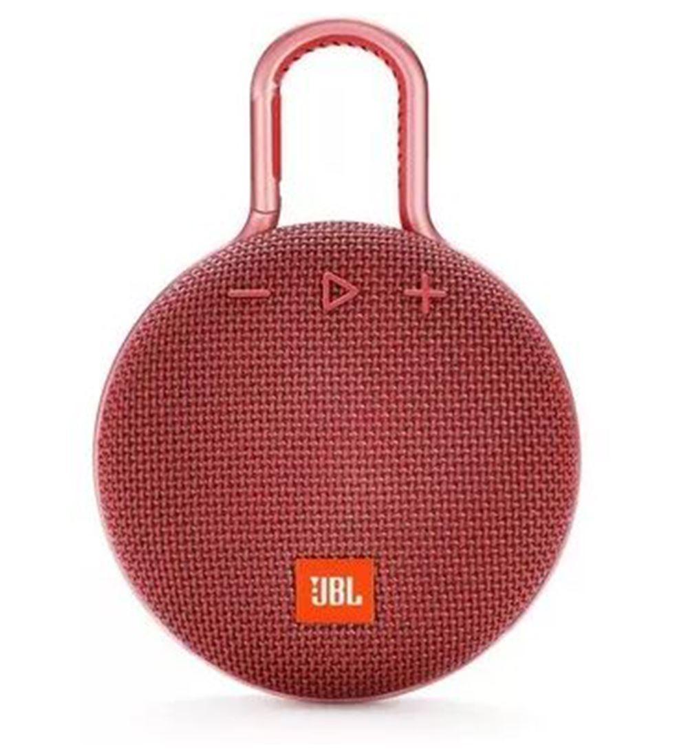 Parlante JBL Clip 3 Bluetooth Rojo
