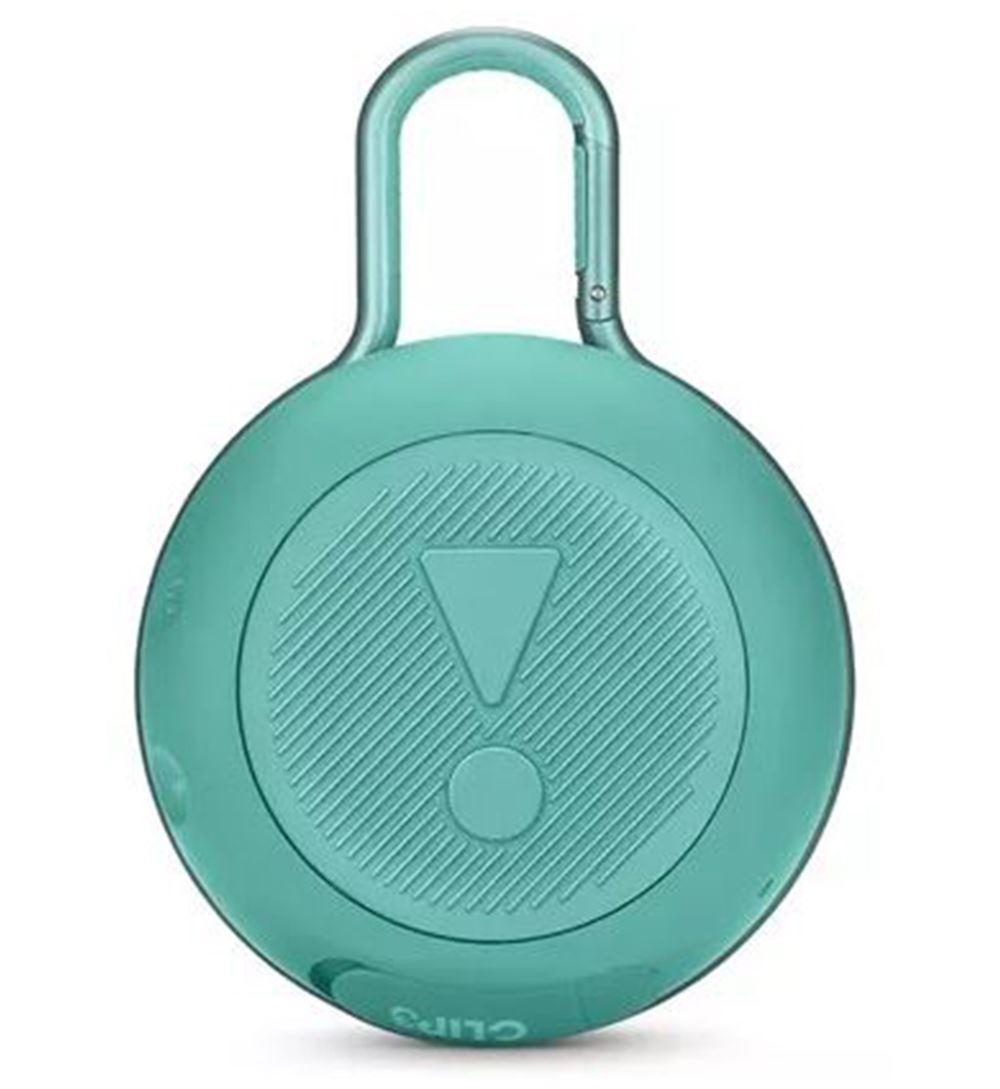 Parlante JBL Clip 3 Bluetooth verde azulado
