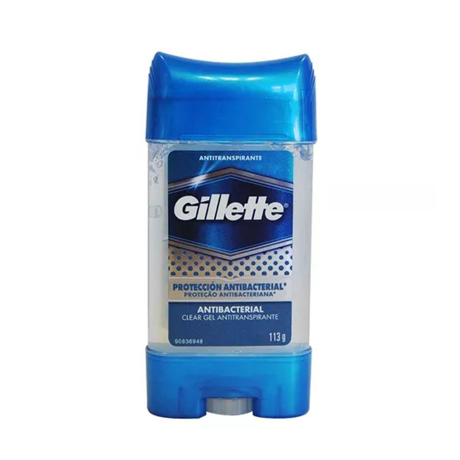 Desodorante Gillette Clear Gel Antibacterial 113G