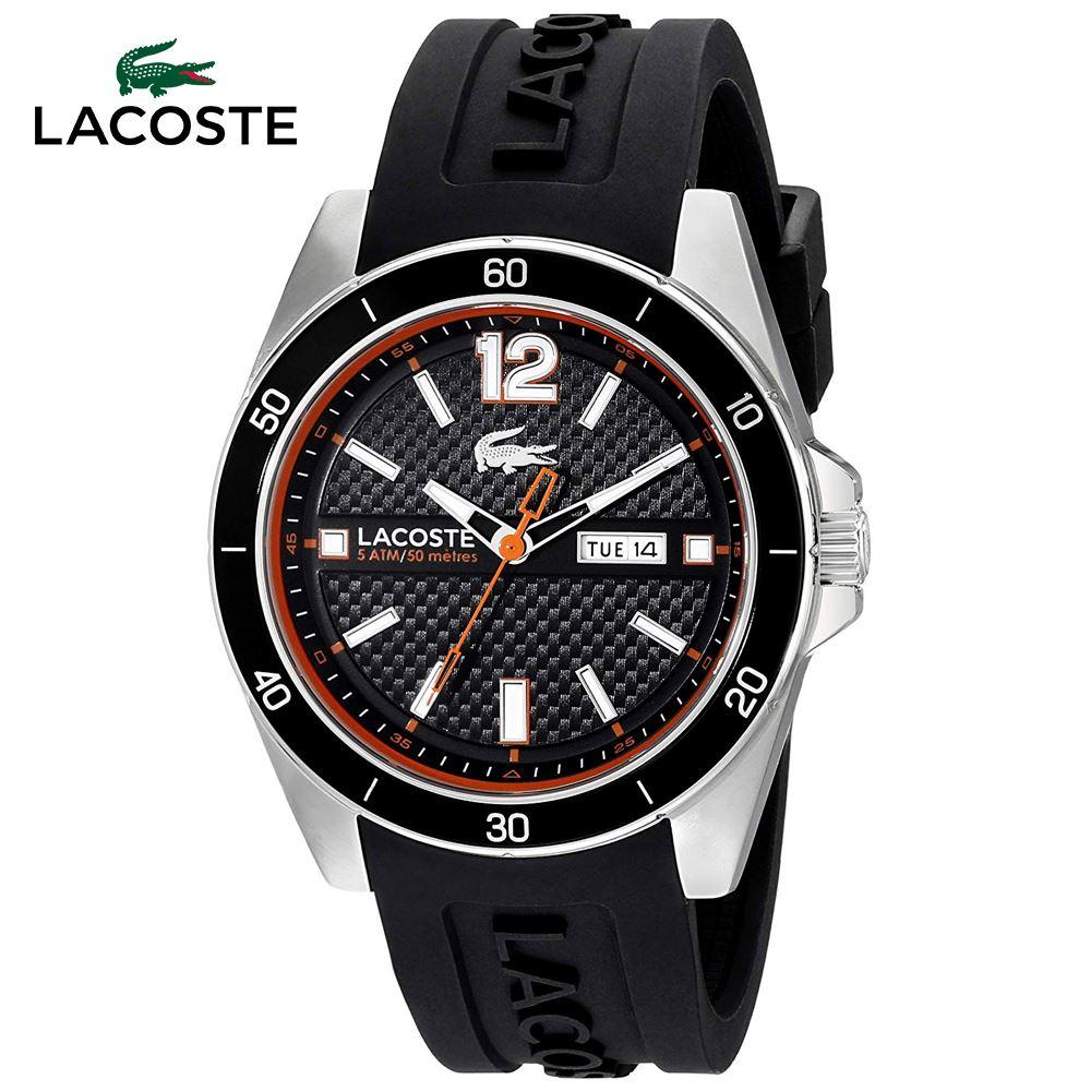 b206d7d64789 Reloj Lacoste Seattle 2010799 Acero Inoxidable Correa Silicona ...