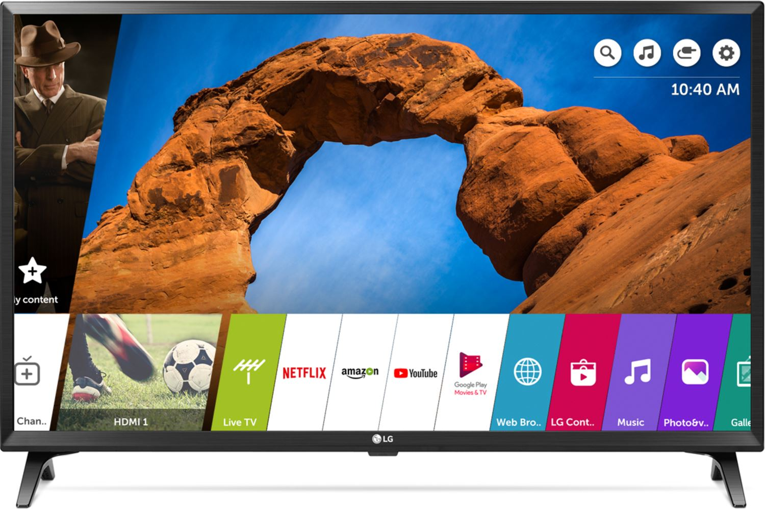 b66205719f7 Tv Led LG Smart 32'' HD 32LK540BPSA Wifi Incorp, Model.2018 - Negro |  Juntoz.com