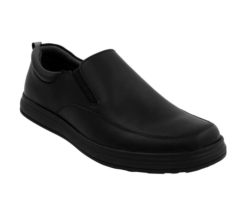 1cd49585 Zapatos Escolares Bata para Niño Recife Cuero 356-6817 - Negro | Juntoz.com