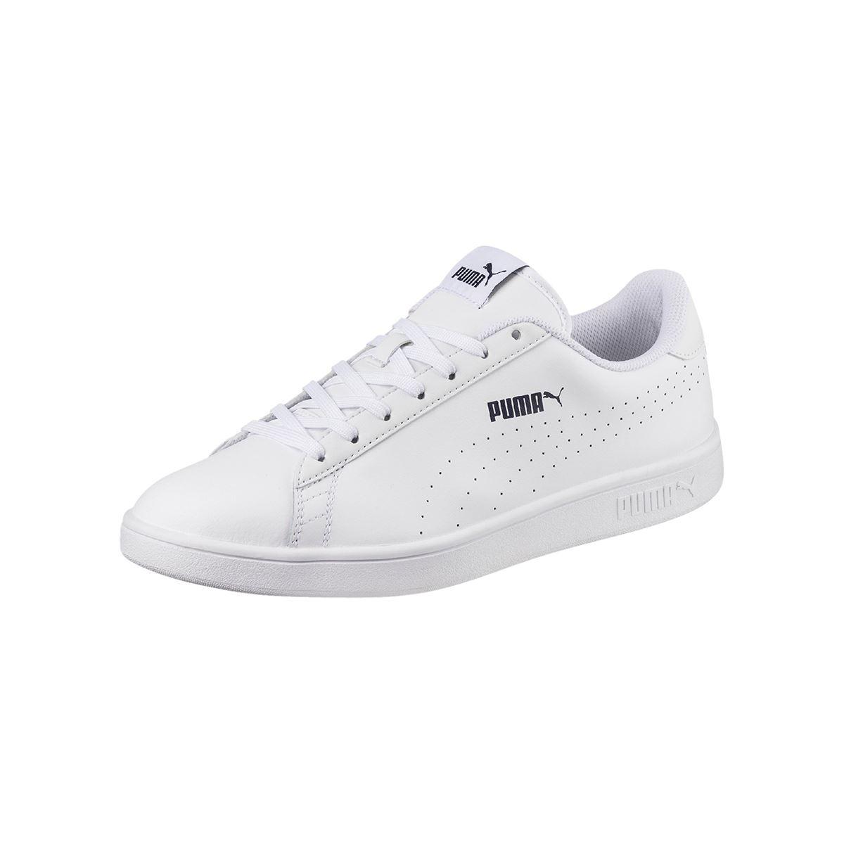 Zapatilla Puma SMASH V2 L PERF para Hombre color Blanco  acbe31c6baac8