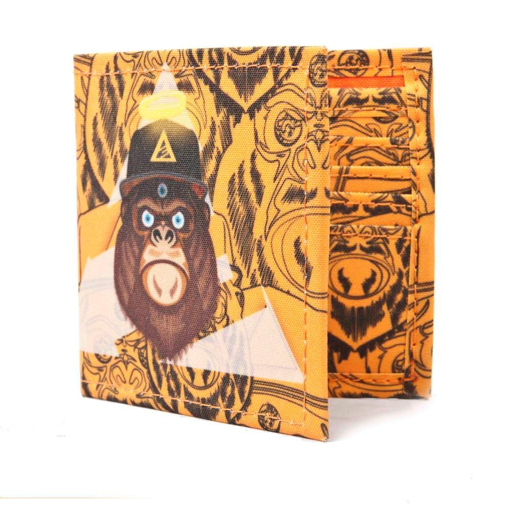 Billetera 3PUNTOS Unisex Gorilla 3P-BLL-GOR