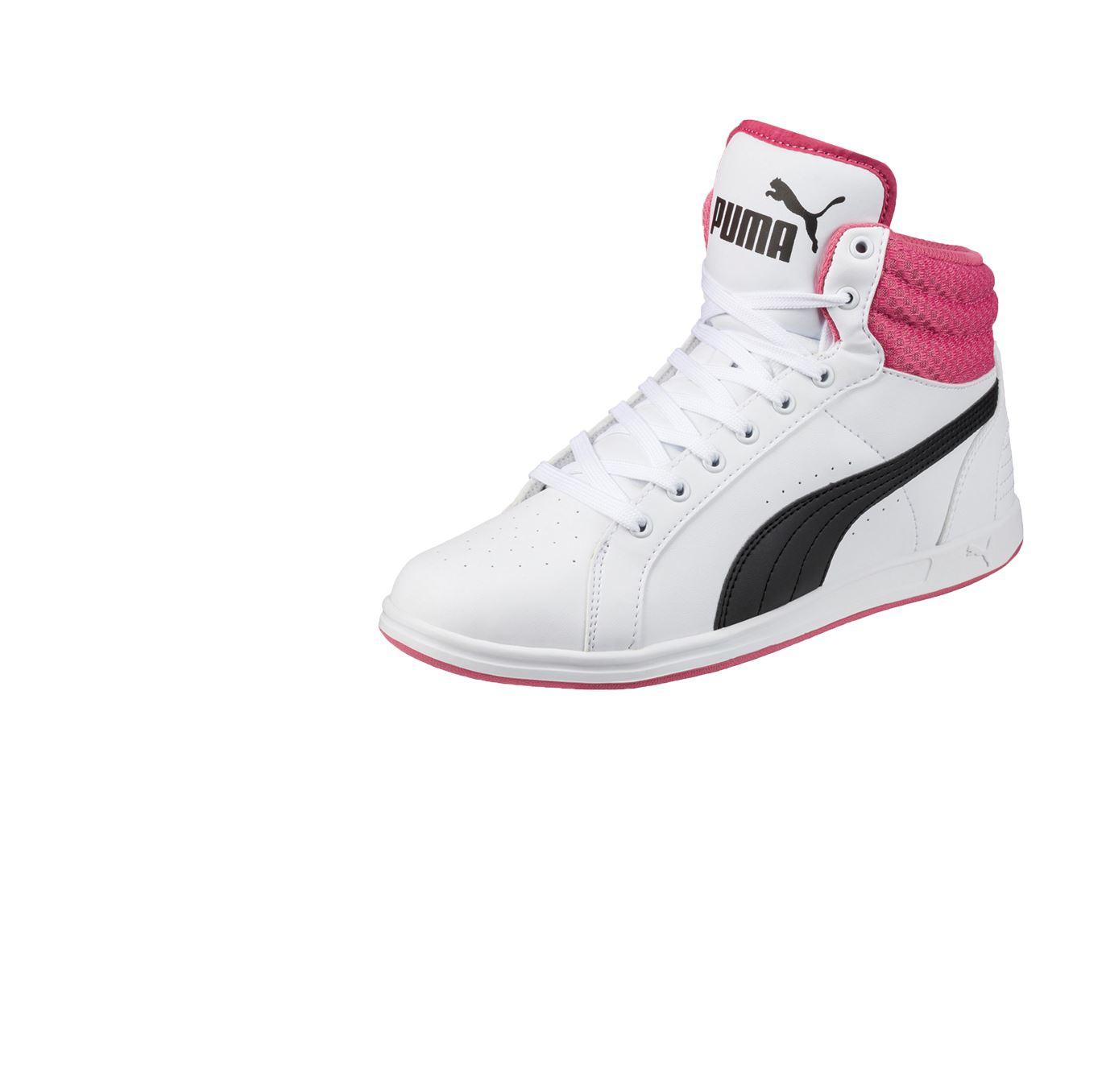 82310c44d99 Zapatilla Puma Para Mujer Urbano Blanco Rojo