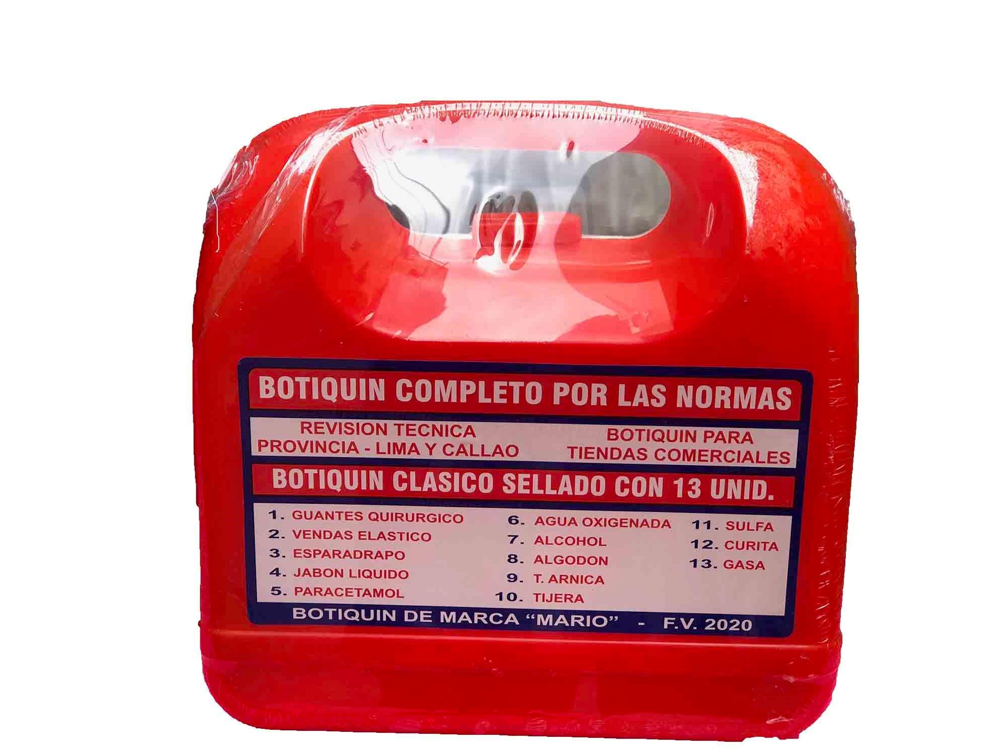 Botiquin De Primeros Auxilios Equipados 13 Unidades   Juntoz.com