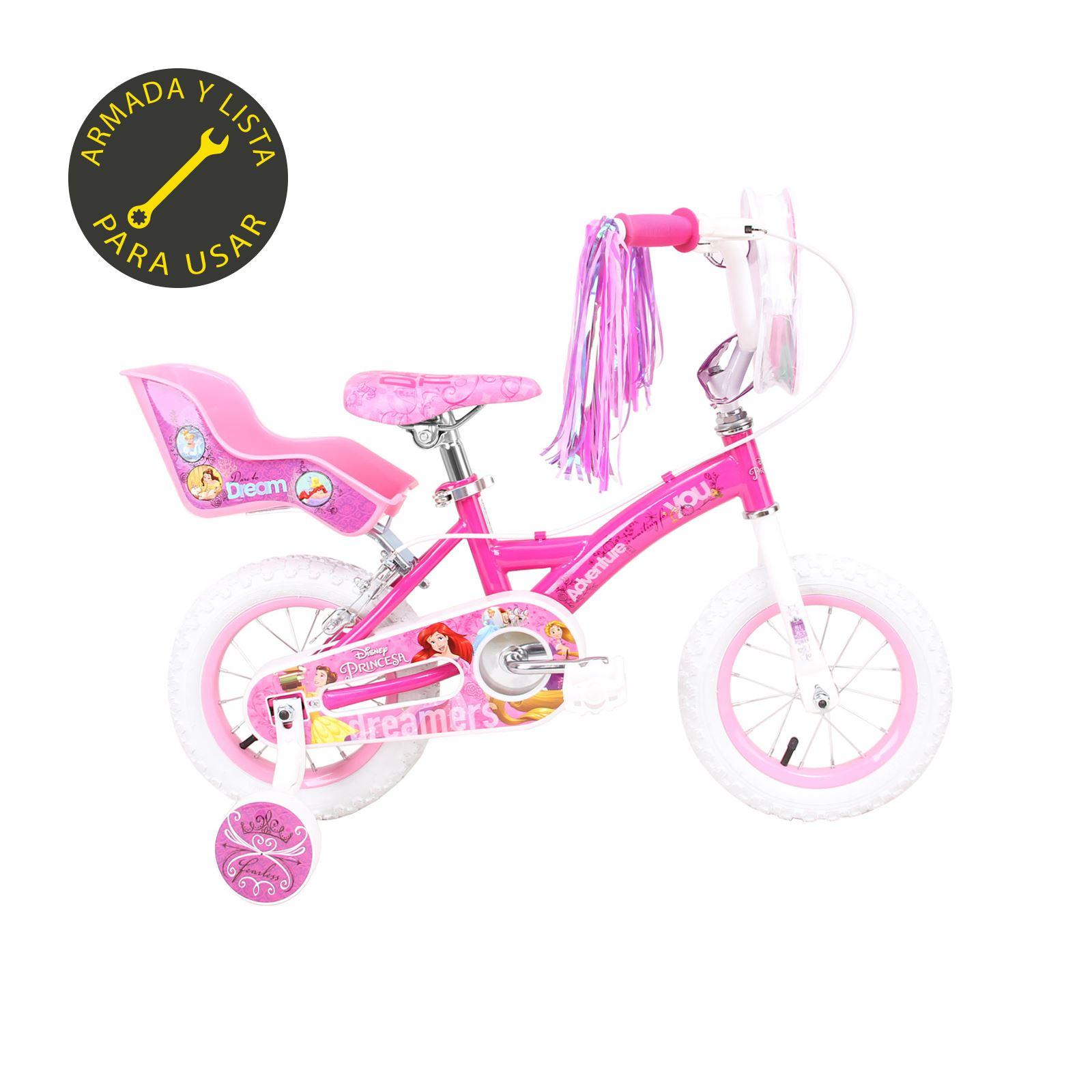 Disney Aro 12 Niña De Rosado Princess Bicicleta ybg76Yf