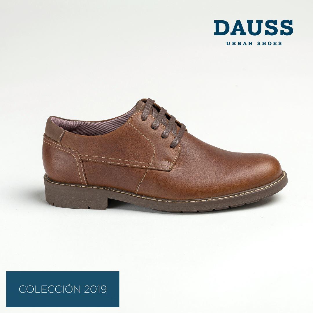 f46d5a8494a3a DAUSS Zapato Casual Cuero 5201 ARENA