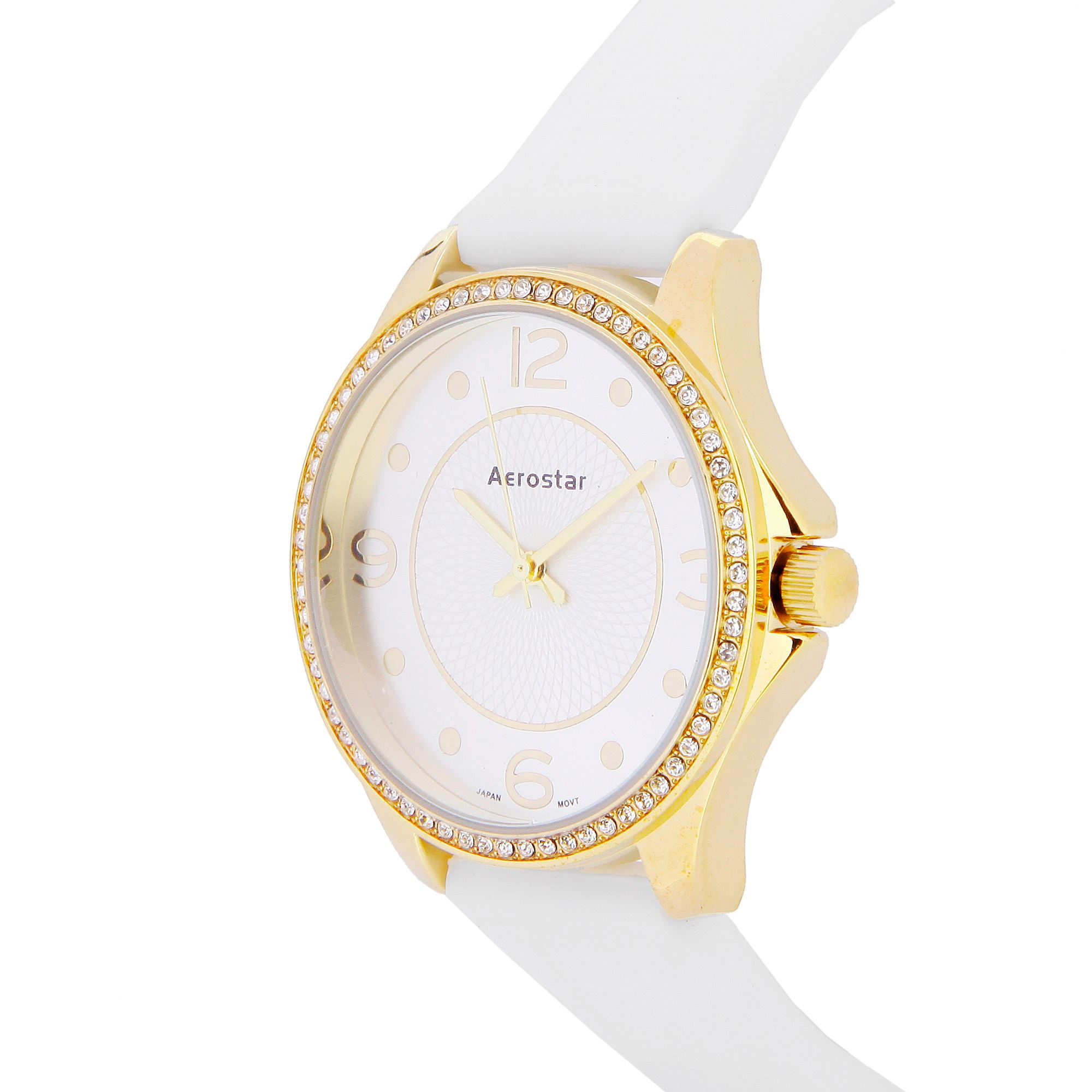 Reloj Dama 633220 Dorado y Blanco  6fcf33199c60