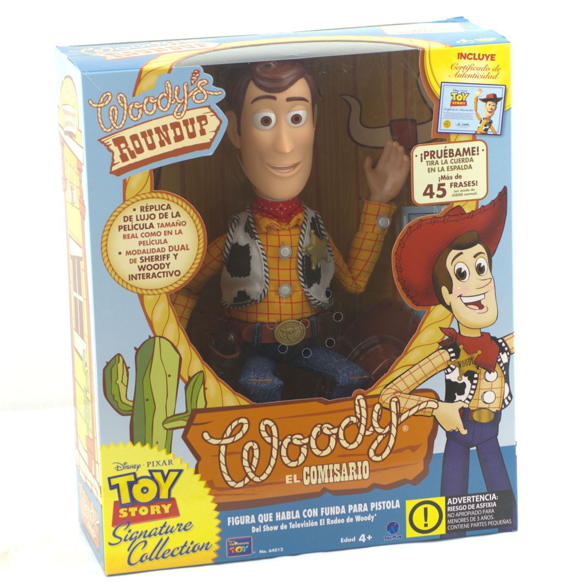 Woody Interactivo Toy Story Signature Collection  7b4428fe712