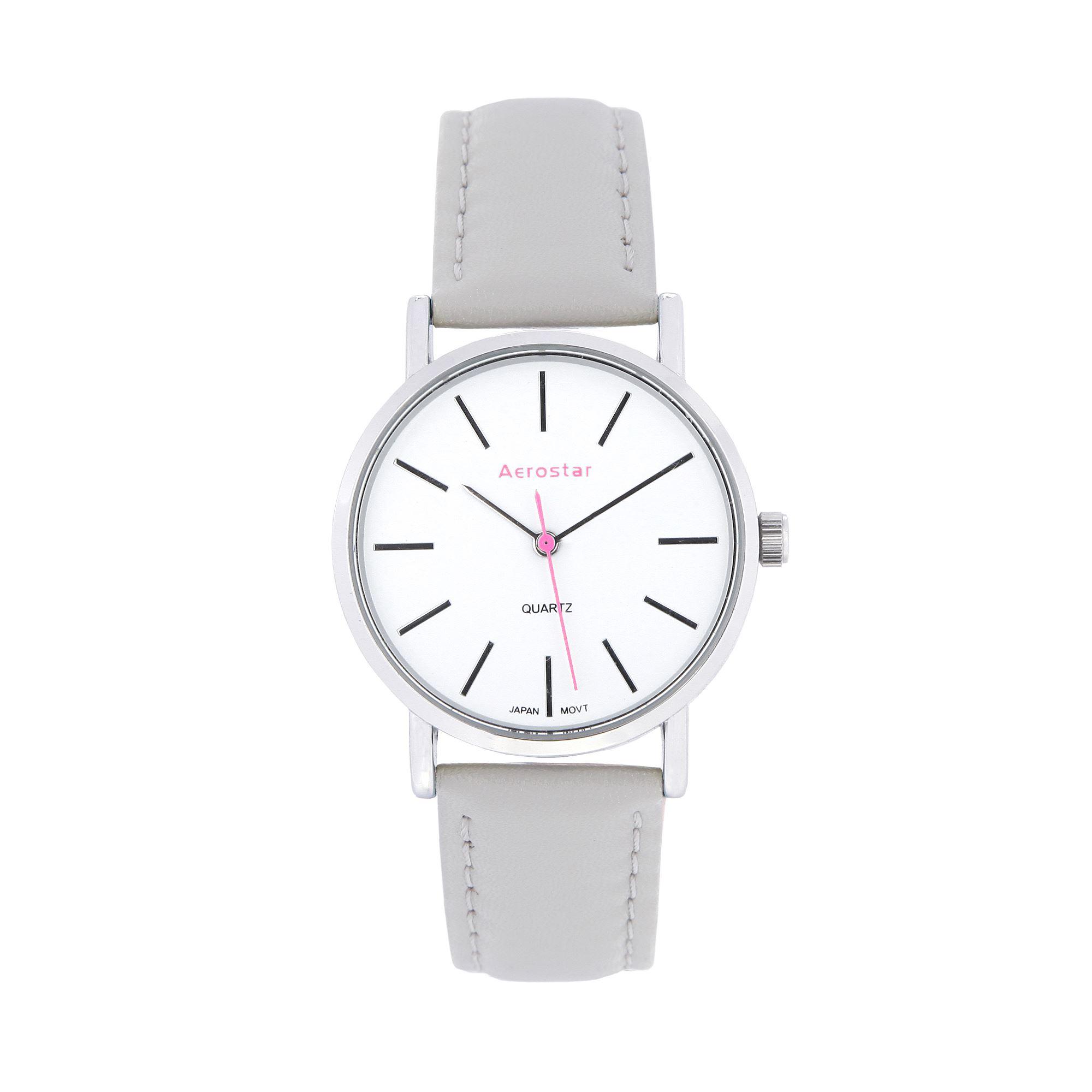 Aerostar - Reloj Dama 6618001 gris  6fd798228ab0