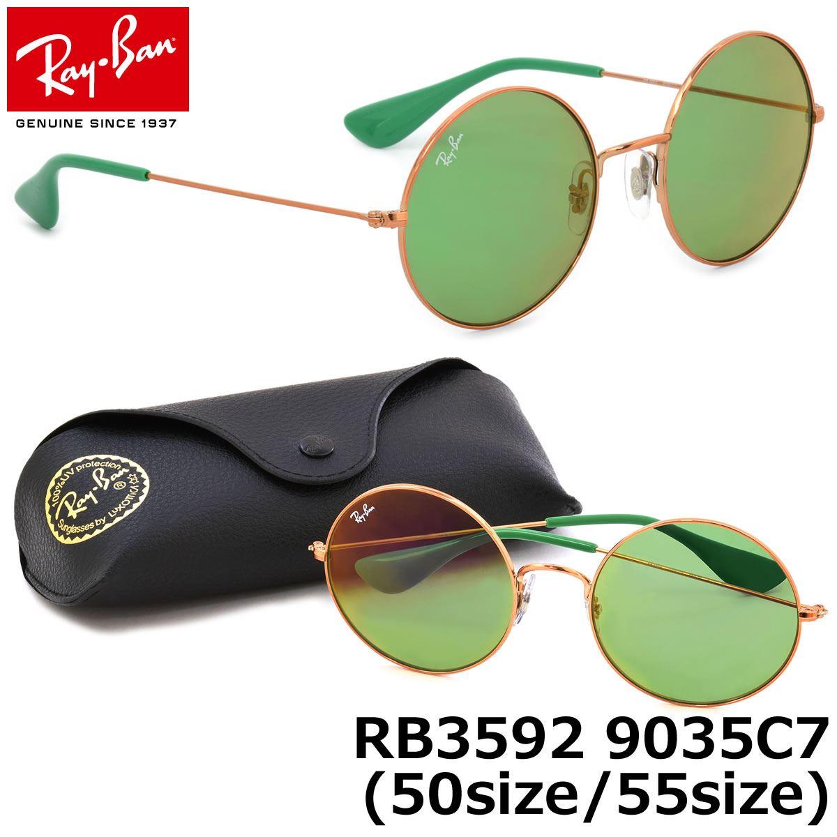 d7c7f98c53 Lentes De Sol RayBan Ja-Jo RB3592 9035/C7 Verde Talla 55mm | Juntoz.com