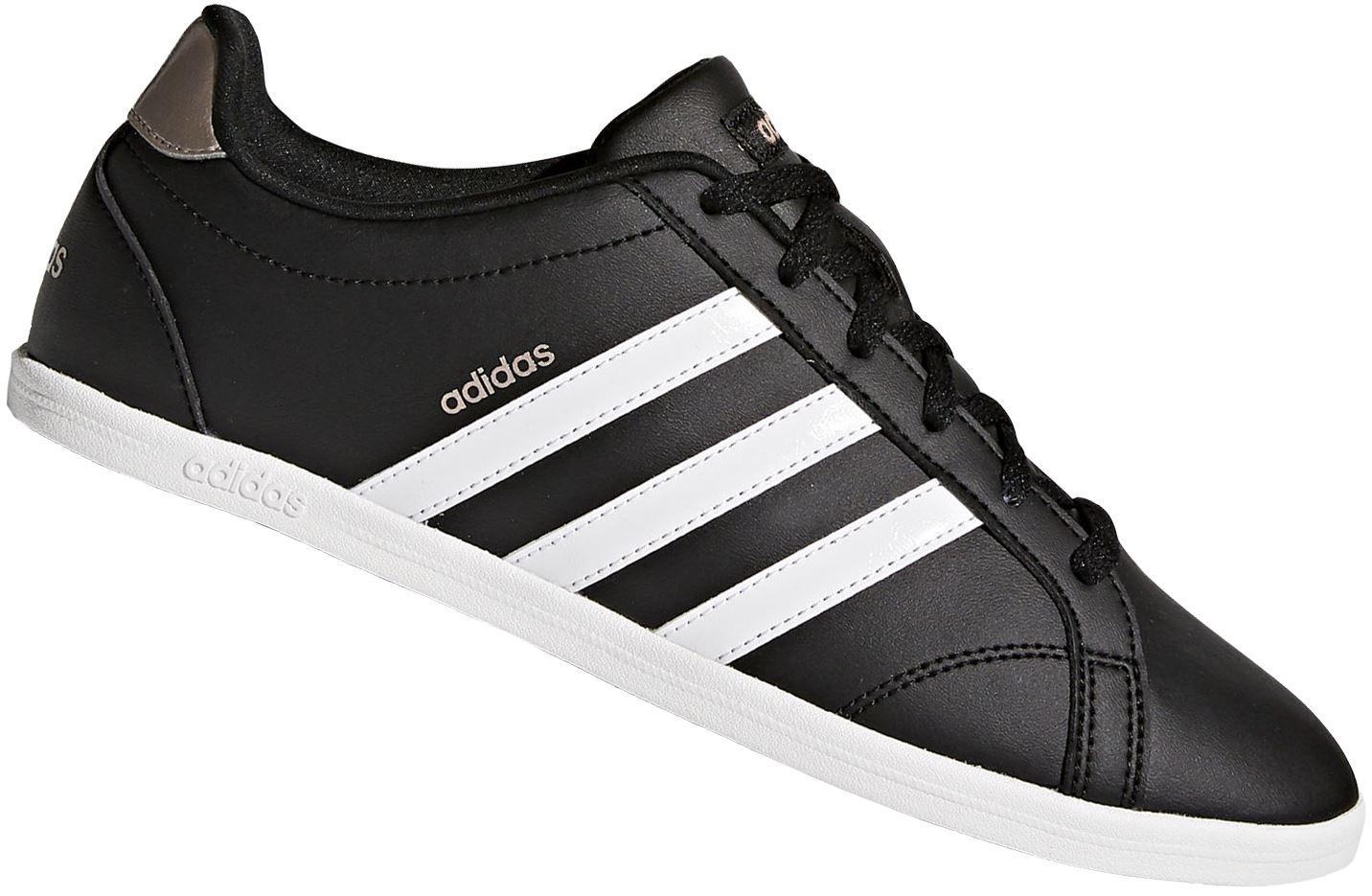 online store ecf15 86b71 Zapatilla Adidas Coneo QT para Dama - Negro   Juntoz.com