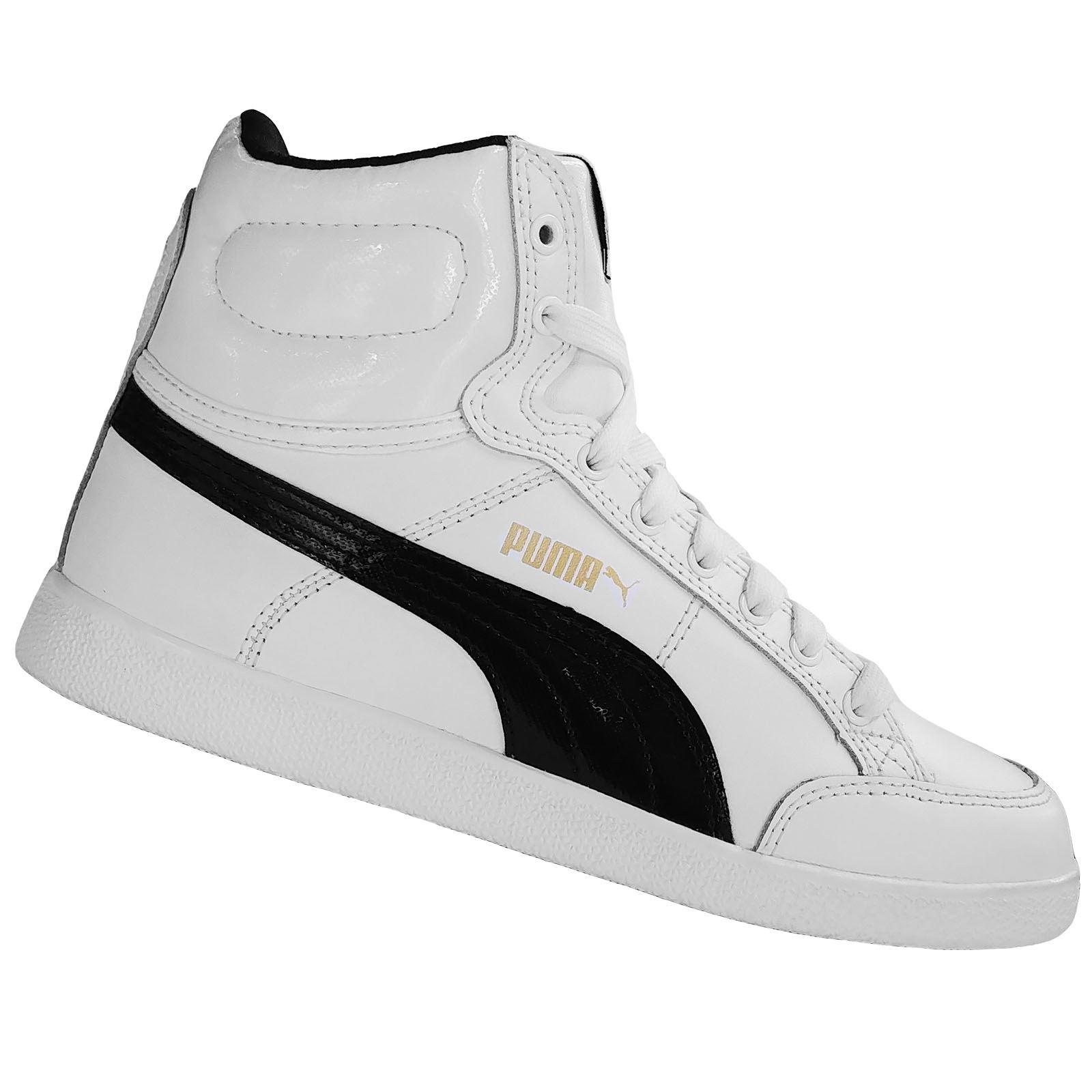 3fdef2422 Boutique Boys - Zapatilla Puma Ikaz Mid Blanco | Juntoz.com