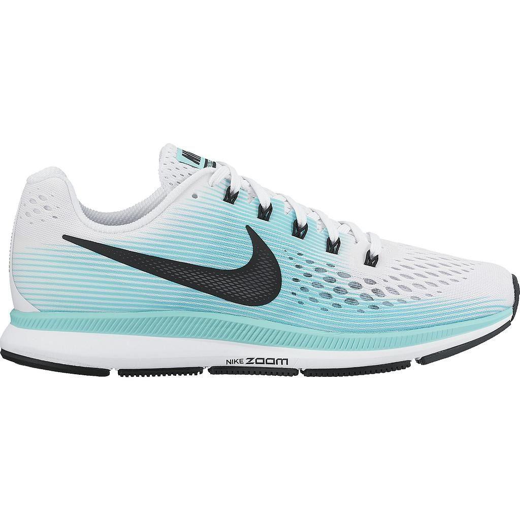 c5714f75fd8 Zapatilla Nike Air Zoom Pegasus para Dama color Blanco Blanco color y  Celeste 8698d0