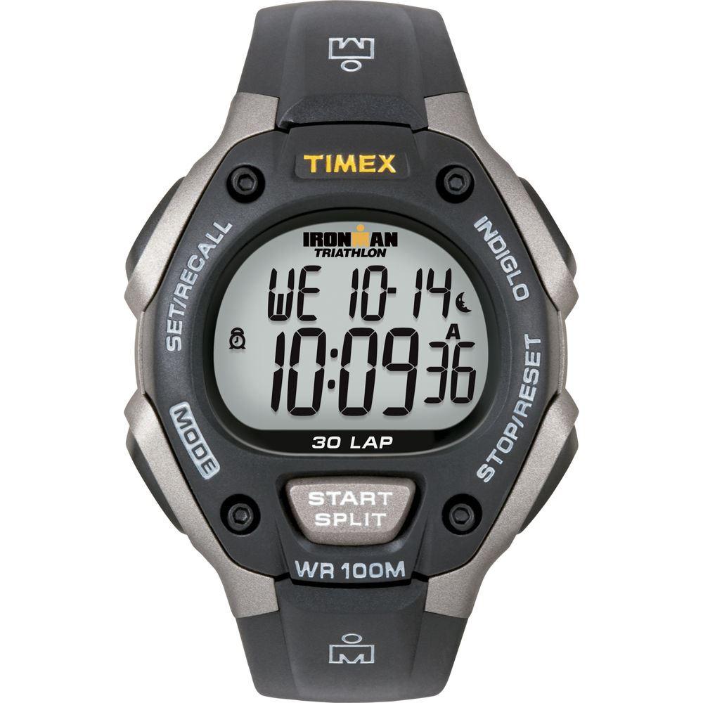 0505a479a1ed Reloj Timex T5E901 Ironman Classic 30 Correa de resina para hombre ...