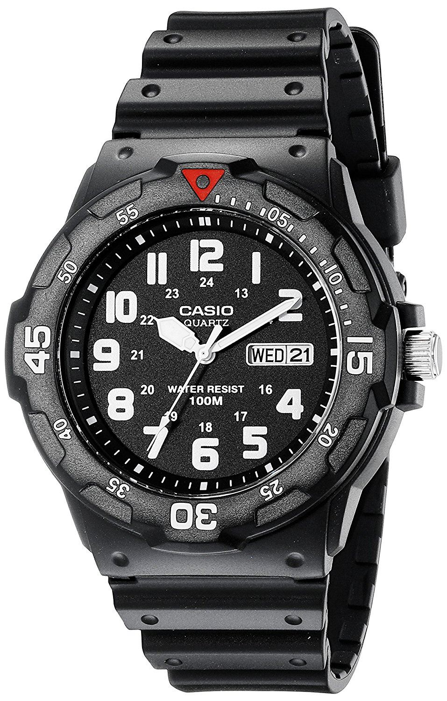648d546ba054 Reloj Casio EAW-MRW-200H-1BV de buceo analógico deportivo Hombre ...