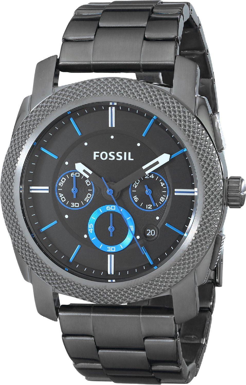 d05671e20c37 Reloj Fossil Cronografo FS4931 Acero Inoxidable Hombre
