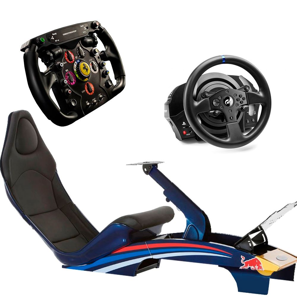 ACHORAO RACING SIMULADOR READY2 RACE PLAYSEAT F1 + T300RS + F1 ADD ...