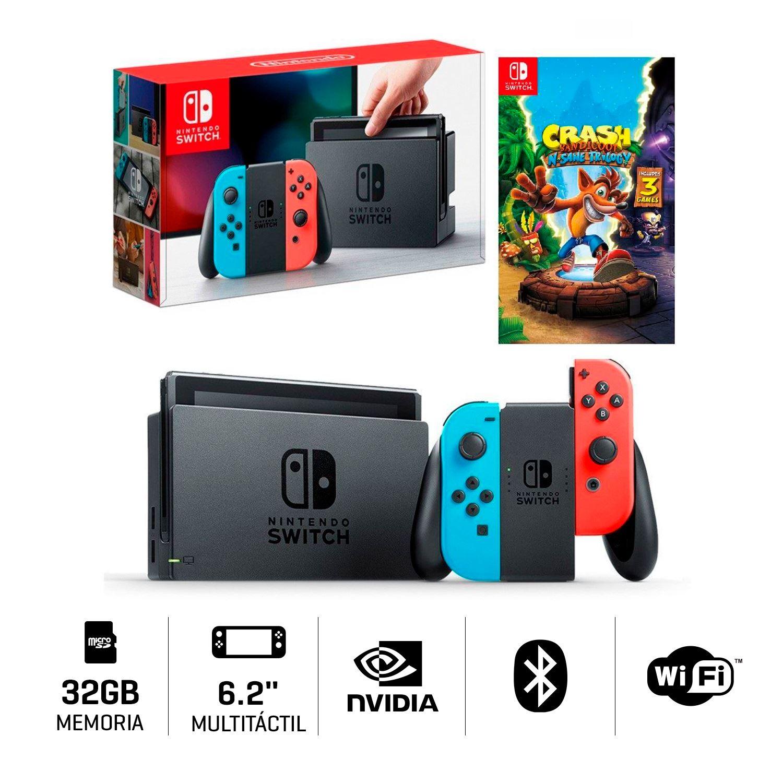 Consola Nintendo Switch Juego Crash Juntoz Com