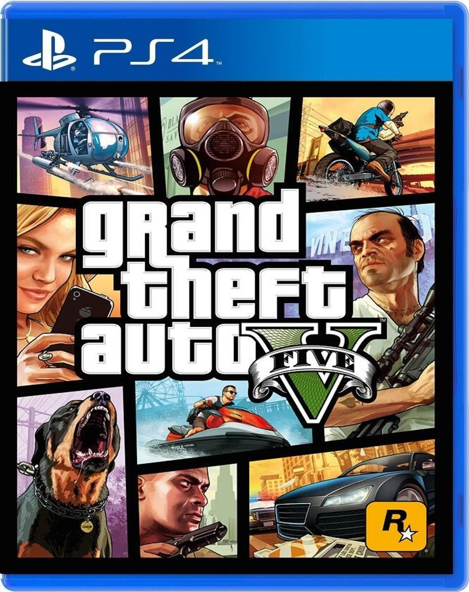 Juego Ps4 Grand Theft Auto V Gta V Original Juntoz Com